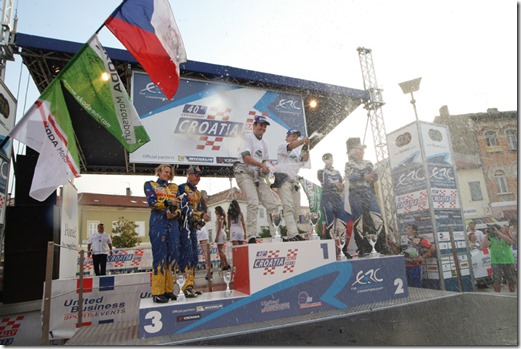 Kopecky-Dresler win the Croatia Rally