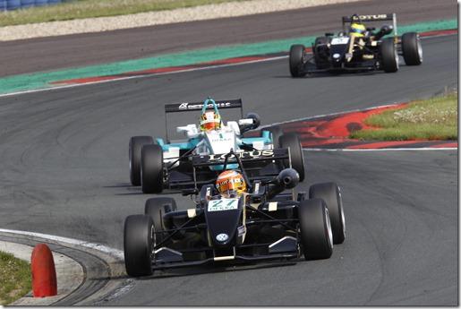Markus Pommer (GER) Lotus Dallara F311 Volkswagen, Race/Rennen 3, ADAC GT-Masters, etropolis Motorsport Arena Oschersleben, 25.-27.04.2014