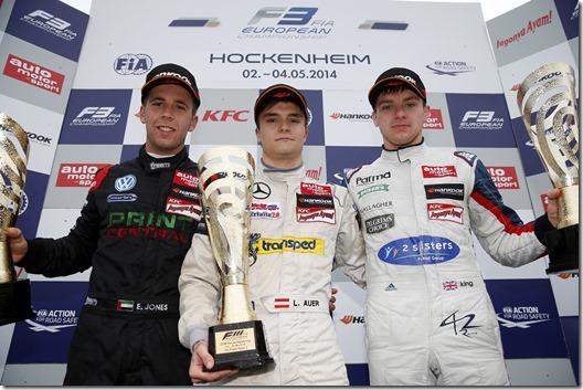 FIA Formula 3 European Championship, round 2, Hockenheim