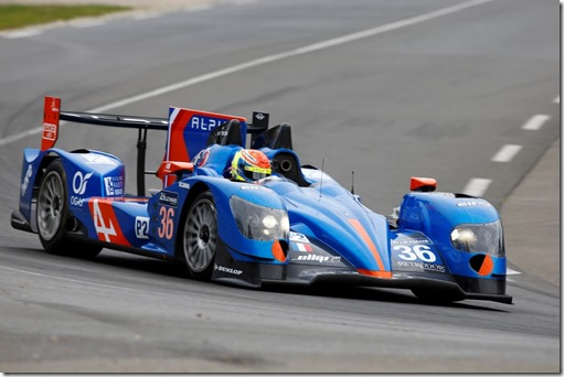 36 CHATIN Paul Lou (FRA) PANCIATICI Nelson (FRA) WEBB Oliver (GBR) Alpine A450 Nissan Team Signatech Alpine , action during the 2014 Le Mans 24 hours test day, on June 1st 2014, at Le Mans circuit, France. Photo Florent Gooden / DPPI